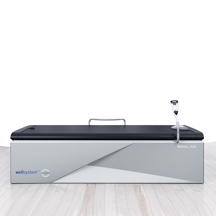 Dry water massage bed